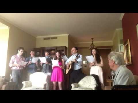 Grandma's 75th birthday song
