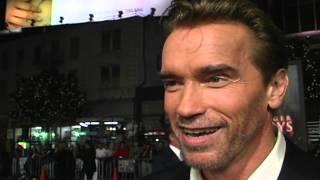 End Of Days: Arnold Schwarzenegger Red Carpet Interview