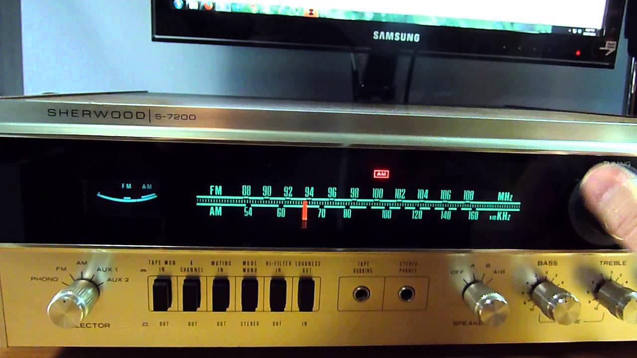 Sherwood S 7200 video by Tom Test