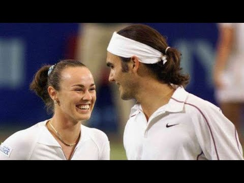 Martina Hingis helped me become a champion, says Roger Federer