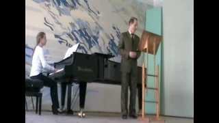 "Schubert. ""Schwanengesang"". #1 ""Liebesbotschaft"". Vladimir Chibisov.wmv"