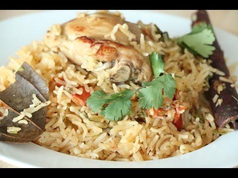 South Indian Chicken Biryani