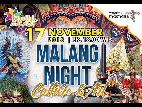 Malang Night Culture and Art, 17-Nov-2018, Kota Malang