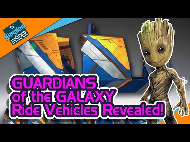 GUARDIANS OF THE GALAXY Roller Coaster Update in Walt Disney World!