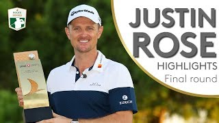 Justin Rose Final Round Winning Highlights | 2018 Turkish Airlines Open