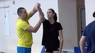 Волейбол девушки.  Обучение. Тренировка команды Воронежской области.  Полная версия