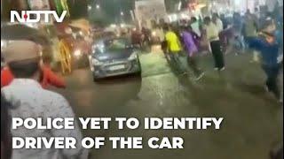 Speeding Car Drives Through Crowd Amid 'Durga Puja Visarjan', 3 Injured