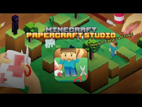 Minecraft Papercraft Studio - Now With EasyCraft!