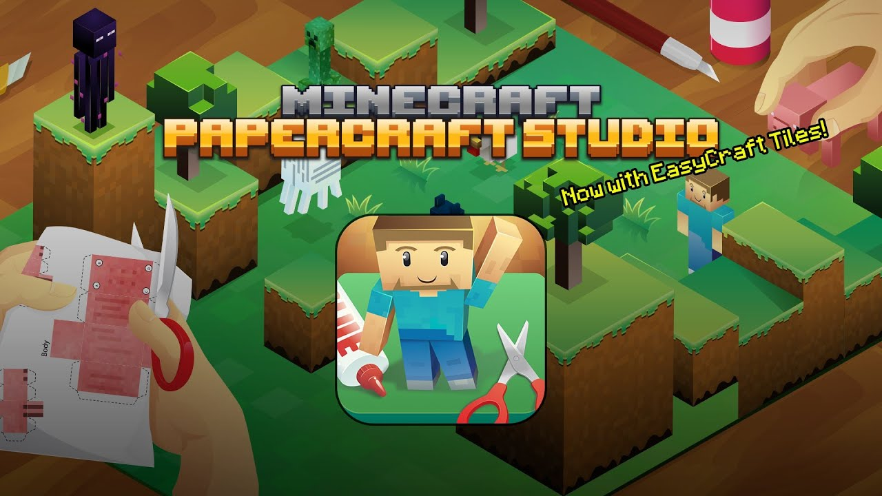 Papercraft Minecraft Papercraft Studio - Now with EasyCraft!