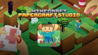 Minecraft Papercraft Studio - Now with EasyCraft!