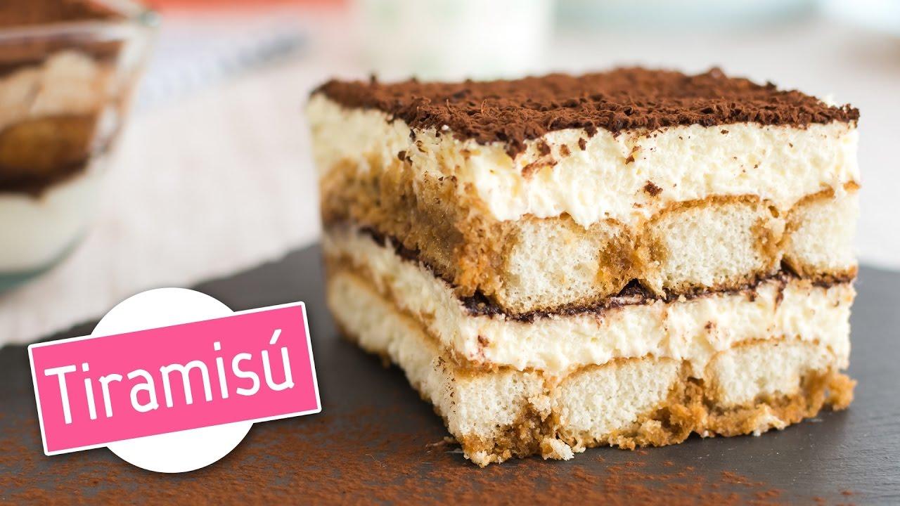 Tiramisú | Postre fácil y sin horno | Quiero Cupcakes! - YouTube