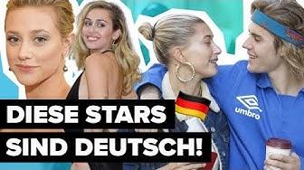 Justin Bieber kommt aus Deutschland? DIESE Stars haben deutschen Wurzeln | Digster Pop Stories