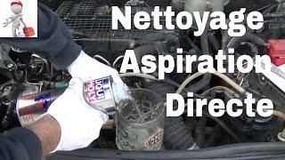 Nettoyer des injecteurs diesel par aspiration directe