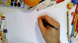 Cer i Greu | Gwynebau | Huw Aaron | How to draw Faces