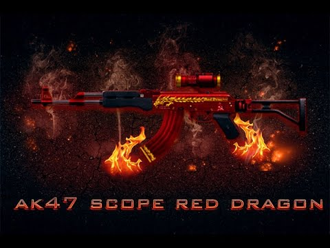 AK-47 Scope Red Dragon ✯ [TLS]