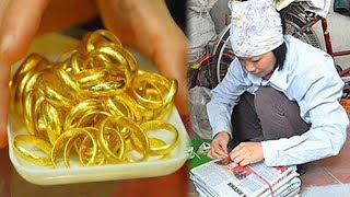 Người phụ nữ bán ve chai đổi đời nhờ nhặt được túi Vàng tiền tỷ nhưng nhận cái kết - TIN TỨC 24H TV