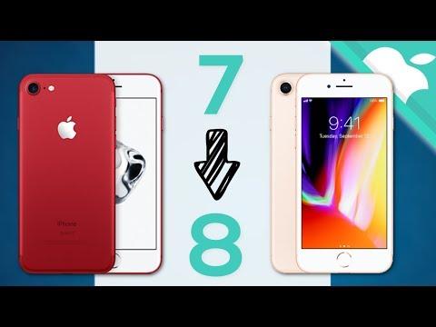 iPhone 7 a iPhone 8   NO LO HAGAS