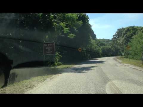 Chrismas Island roads..