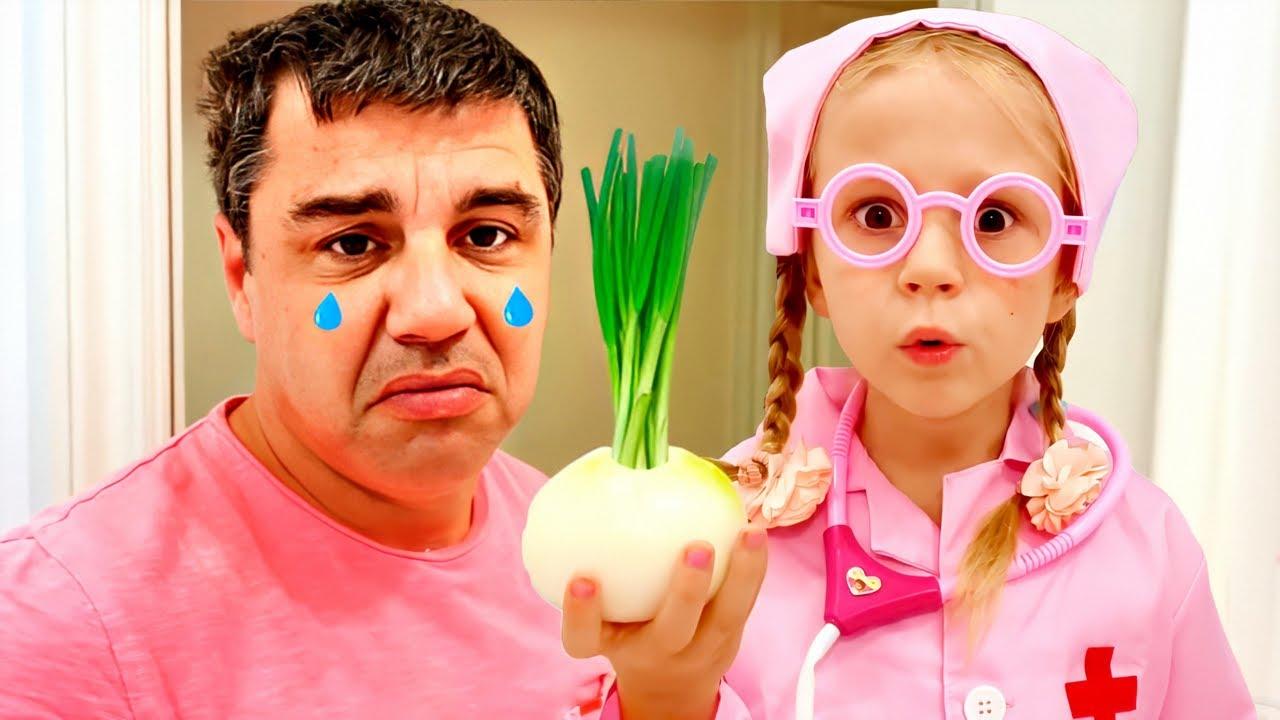 Download Nastya et l'histoire drôle d'un père triste, histoires pour enfants