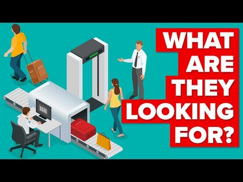 What Are TSA Agents Looking For At The Airports?