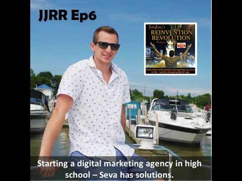 JJRR Ep6 Starting a digital marketing agency in high school - Seva has solutions