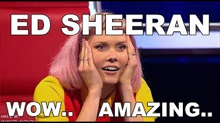ED SHEERAN VOICE, ED SHEERAN X FACTOR, ED SHEERAN GOT TALENT 8 BEST ED SHEERAN'S COVERS MID BLOWING