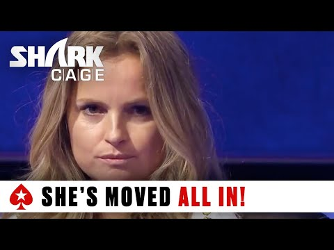 Shark Cage: Huge Pre-flop Three-way All-in!   PokerStars