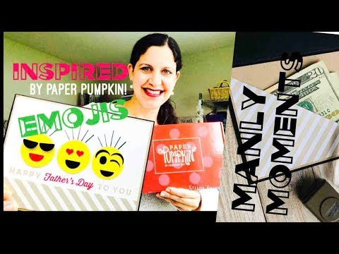 MAY 2018 PAPER PUMPKIN MANLY MOMENTS Alternate & Unboxing