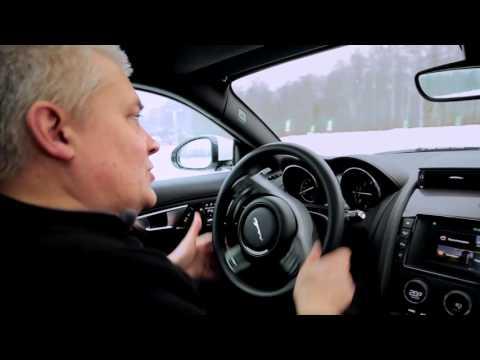 Jaguar Experience   Егор Васильев. Урок 5 - Техника выхода из заноса