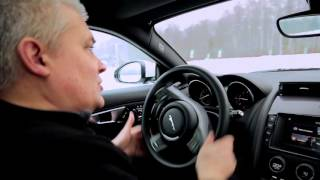 Jaguar Experience | Егор Васильев. Урок 5 - Техника выхода из заноса