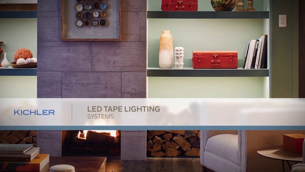 Led Tape And Channel Lighting Kichler Lighting