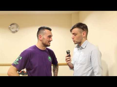 Post Fight Interview with Merv Mulholland at Clan Wars 22