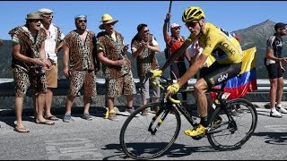 Tour De France Stage 15 Chris Froome Gets DROPPED But Smashes His Way Back
