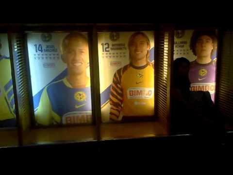 Estadio Azteca Locker Room
