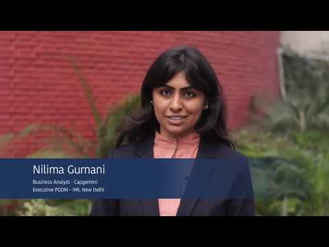 Executive PGDM || IMI New Delhi || Ms. Nilima Gurnani