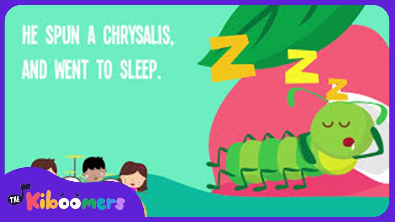 caterpillar song preschool caterpillar crawled song lyrics nursery rhyme 395