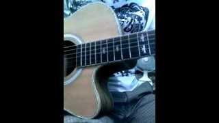 Còn Nguyên Vết Thương Sâu - guitar cover - Thế Cường91