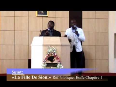 DOCTEUR PIERROT GOMAT DU GABON PRECHE SUR LA FILLE DE SION PART 2