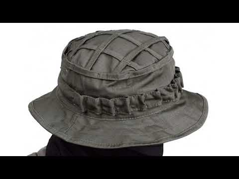 686bdfc779f MUST SEE Hunting Gear Review! Boonie Hat Tactical Ripstop Headwear Bucket  Hat with Map Pocket Ch..