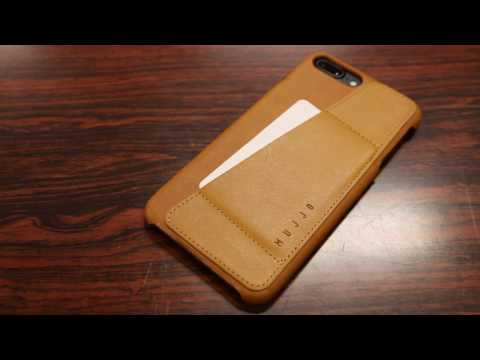 Slim Wallet Case! - Mujjo Leather Wallet Case iPhone 7 & 7 PLUS - Review / Demo