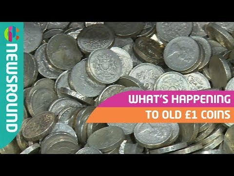 What's happening to old £1 coins?