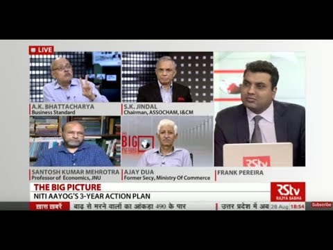 The Big Picture - Niti Aayog's  3-year action plan - How can