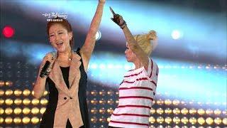 장윤정 콘서트 - 어부바/초혼/짠짜라/당신이 좋아 (Jang Yun-jeong Hit song) EXPO POP Festival 2012
