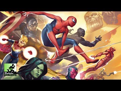 Marvel Champions Gameplay Runthrough
