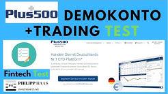 Demokonto von Plus500 erklärt, kostenloses Tradingkonto