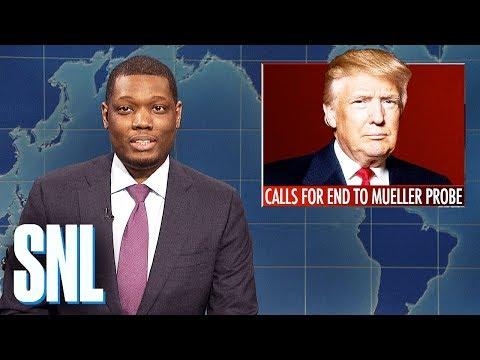 Weekend Update: Trump Calls for End to Mueller Probe - SNL
