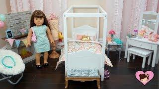 Poupée bébé Chambre à coucher pour Fille Américaine - Salle de Jouet Meubles & Accessoires