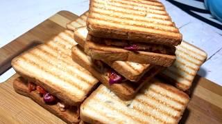 Sheet-Pan BBQ sandwich | Как приготовить СЭНДВИЧ с курицей в соусе барбекю
