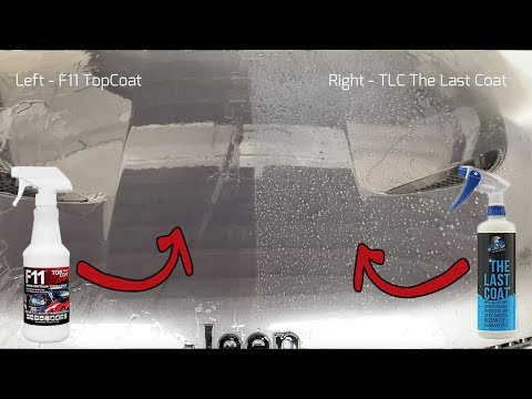 Topcoat F11 Vs The Last Coat Tlc Update Side By S