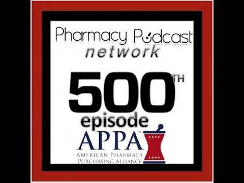 500th Pharmacy Podcast Episode - Pharmacy Podcast Episode 500